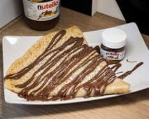 Crepe com Nutella