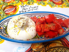 Burrata Con Pomodoro