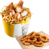 Noodle Pack Shanghai cu onion rings