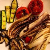 Misto di verdure ai ferri