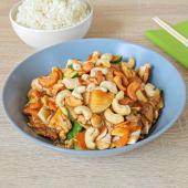 """Grill wok """"Cashew"""" piletina, riža"""