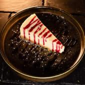 Cheesecake Con Sirope Frambuesa