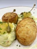 Котлети зі щуки з картопляним пюре (140/150г)