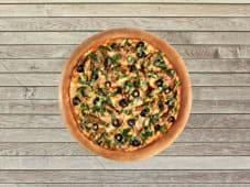 Pizza Double Poulet Pesto Parmesan - Pâte Traditionnelle