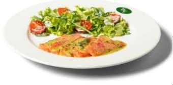 Salada de Salmão Marinado