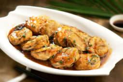 Жареные баклажаны с мясом