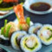 Futomaki tempura di gamberi