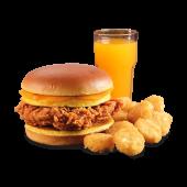 Menú sándwich Campero de desayuno