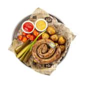 Колбаски ручной работы из говядины