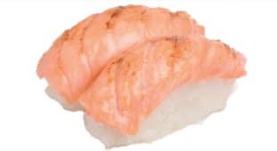 Sushi saumon braisé x2