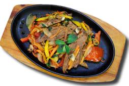 Гаряча пательня зі свинини з овочами (400г)