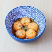 10. Agedashi tofu