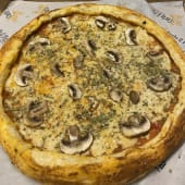 Pizza vegana vegetales