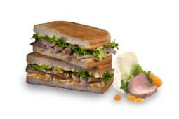 Sándwich de solomillo brie premium