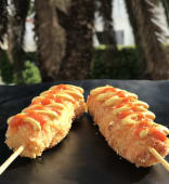 Korean cheese corn dog - 1pc