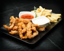 Crispy strips tempura