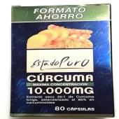 Cúrcuma Estado Puro (10 000 mg.) (80 cápsulas)