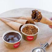 Galletas (4 uds.) + crema de cacao y avellanas + nueces de macadamia