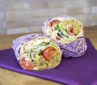 Falafel roll wrap
