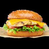 Cheese burger de pollo