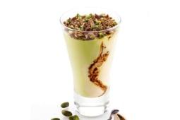 Coppa crema e pistacchio