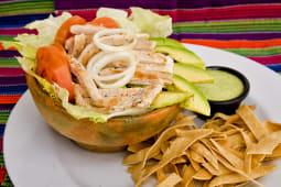 Ensalada Tacontento con pollo