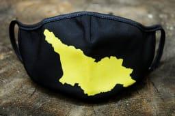შავი პირბადე საქართველოს რუკით