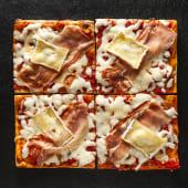 Pizza Speck e brie (4 pzs.)