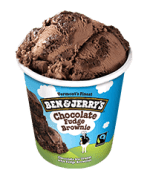 Ben & Jerry: Chocolate Fudge Brownie 500ml