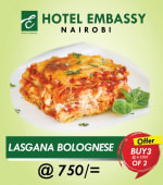 Buy 2 Lasagna bolognese Get 1 Free