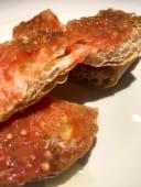 Pa de coca torrat amb tomaquet