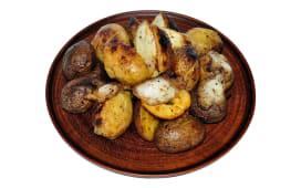 Картопля з салом (100г)