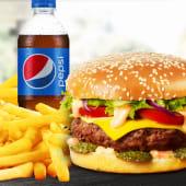Meniu XL American Burger de vită