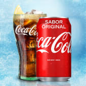Coca-Cola Sabor Original lata 330ml.
