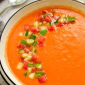 Gazpacho de Sandía, una sopa fría deliciosa