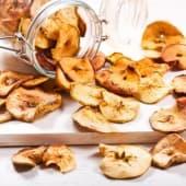 Chips pomme cannelle - environ 150g par barquette