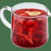 Чай с малиной и имбирем
