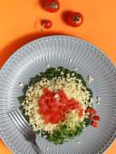 Булгур зі шпинатом (200г)