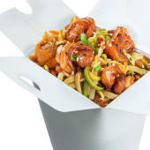 ლაფშა კრევეტით / Shrimp Noodles