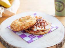 Deli Bagel Chicken Fajitas - Picante