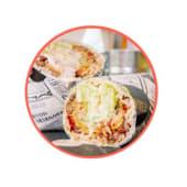 Burrito chilorio de res