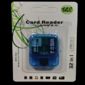 Lector De Memorias Usb Microsd, Sd Hc, M2, M5 Duo, Todo En Uno