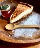 Tarta de queso cremosa