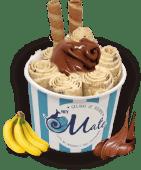 Love on Top - Banana e Nutella