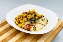 Filetto di merluzzo con patate