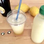 Sorbete de limón al orujo de champagne