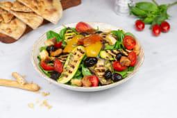Insalata verdure grigliate e al forno