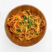 Спагетті з томатами та зеленню (300г)