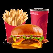 სტეიკ ბურგერის კომბო/Steak Burger Combo