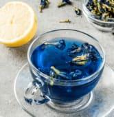 Синій чай з лавандою та медом